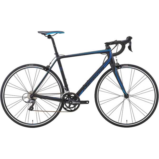 【代引不可】18メリダ SCULTURA 100 マットブラック(ブルー)