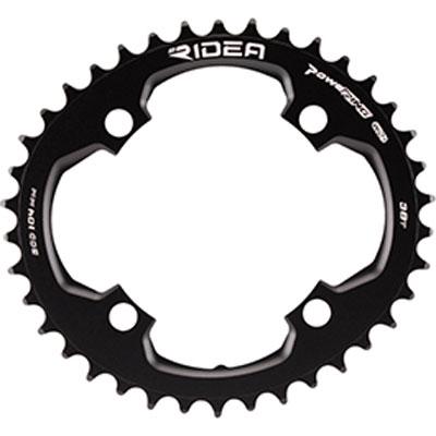RIDEA MTB POWERING 4A BCD104 W0 ブラック ナローワイド/フロントシングル用