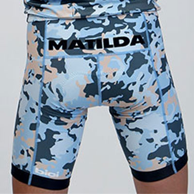 【現品特価】bici Bib Shorts マチルダブルー