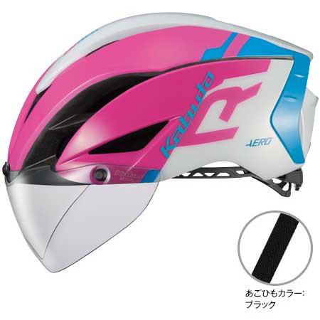 OGKカブト エアロ-R1(AERO-R1) G-1ピンクブルー ヘルメット