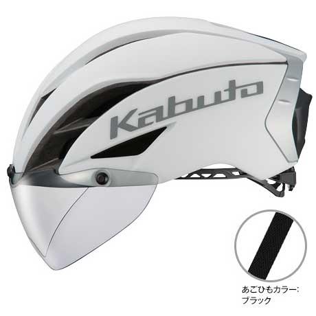 OGKカブト エアロ-R1(AERO-R1) TR マットホワイト ヘルメット