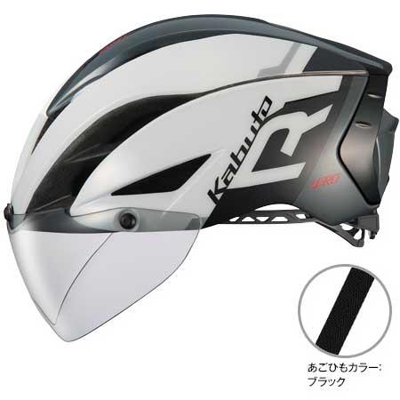 OGKカブト エアロ-R1(AERO-R1) G-1ホワイトダークグレー ヘルメット