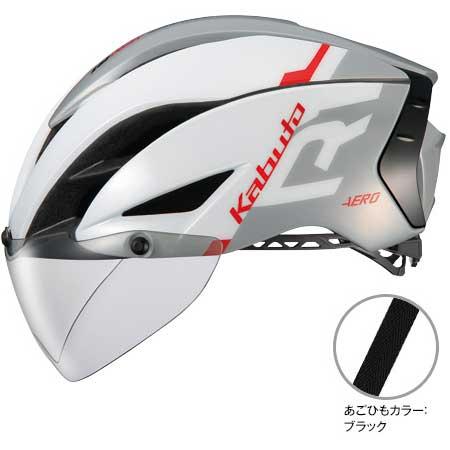 OGKカブト エアロ-R1(AERO-R1) G-1ホワイトライトグレー ヘルメット