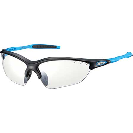 OGKカブト ビナートX フォトクロミック マットブラックブルー/クリア調光レンズ アイウェア