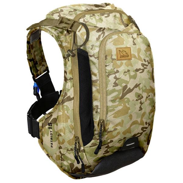 【急行】ユースウィー PATRIOT 15 カモフラージュ ハイドレーションバッグ バックパック