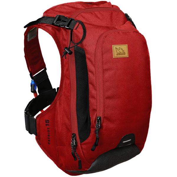【急行】ユースウィー PATRIOT 15 チリレッド ハイドレーションバッグ バックパック