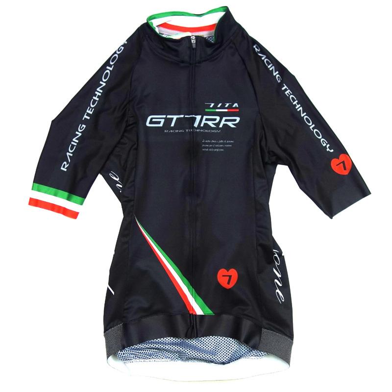 セブンイタリア GT-7RR II レディース Jersey ブラック