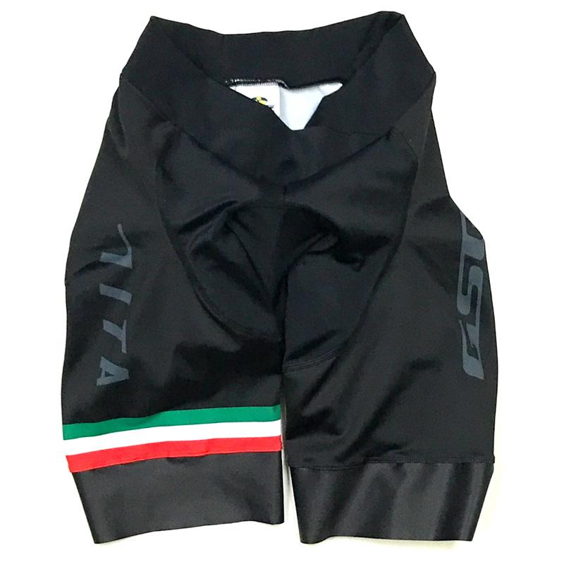 セブンイタリア Neo レディース Summer Shorts ブラック/グレー