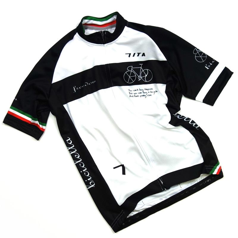 セブンイタリア Neo Freedom Bicycle Jersey ホワイト
