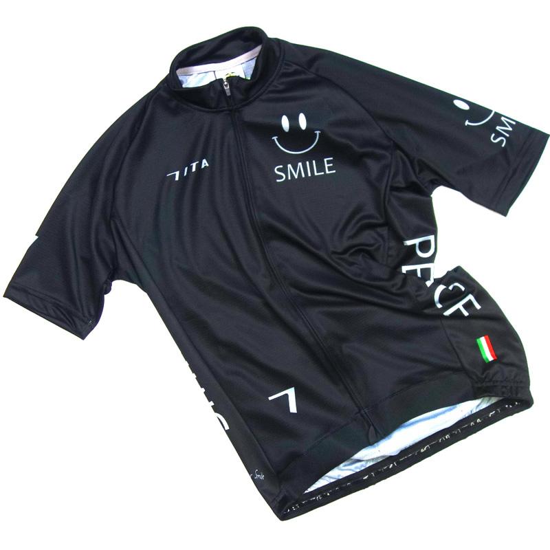 【現品特価】セブンイタリア Neo Happiness Neo Happiness Jersey Smile Jersey ブラック, SMOKEY BONES:46558564 --- wap.cadernosp.com.br