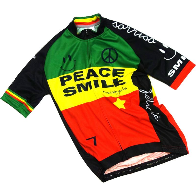 セブンイタリア Peace & Smile Jersey ラスタ