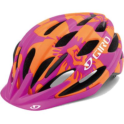 ジロ RAZE ワイドフィット マットマゼンタ/フレイムフラワーズ ヘルメット