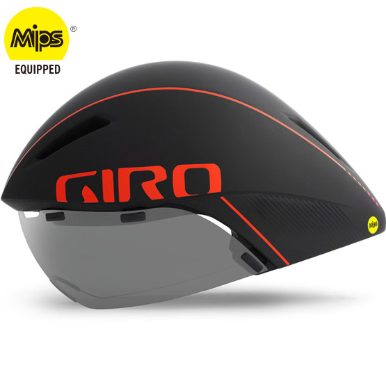 ジロ AEROHEAD MIPS ブラック/バーミリオン ヘルメット