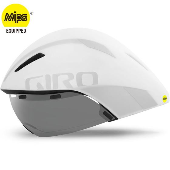 ジロ AEROHEAD MIPS マットホワイト/シルバー ヘルメット