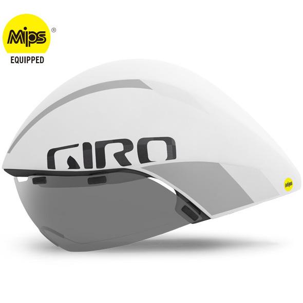 ジロ AEROHEAD ULTIMATE MIPS マットホワイト/シルバー ヘルメット