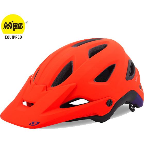ジロ MONTARO MIPS マットバーミリオン ヘルメット