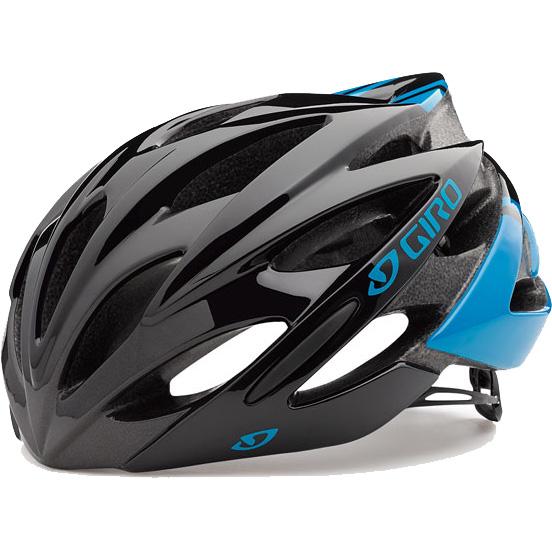 【特急】ジロ SAVANT ワイドフィット ブルー/ブラック ヘルメット