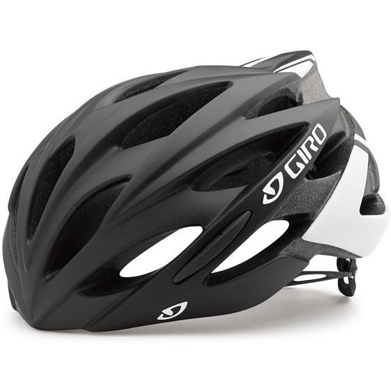 【特急】ジロ SAVANT ワイドフィット マットブラック/ホワイト ヘルメット