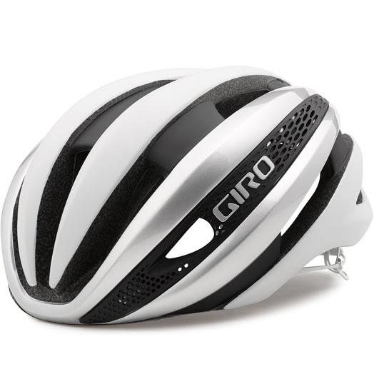 ジロ SYNTHE マットホワイト/シルバー ヘルメット