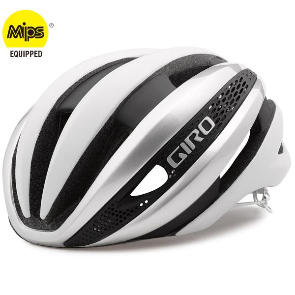 ジロ SYNTHE MIPS マットホワイト/シルバー ヘルメット