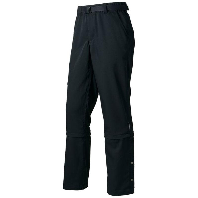 パールイズミ 【B9130】バイカーズ パンツ 9.ブラック (3.5サイズアップ)