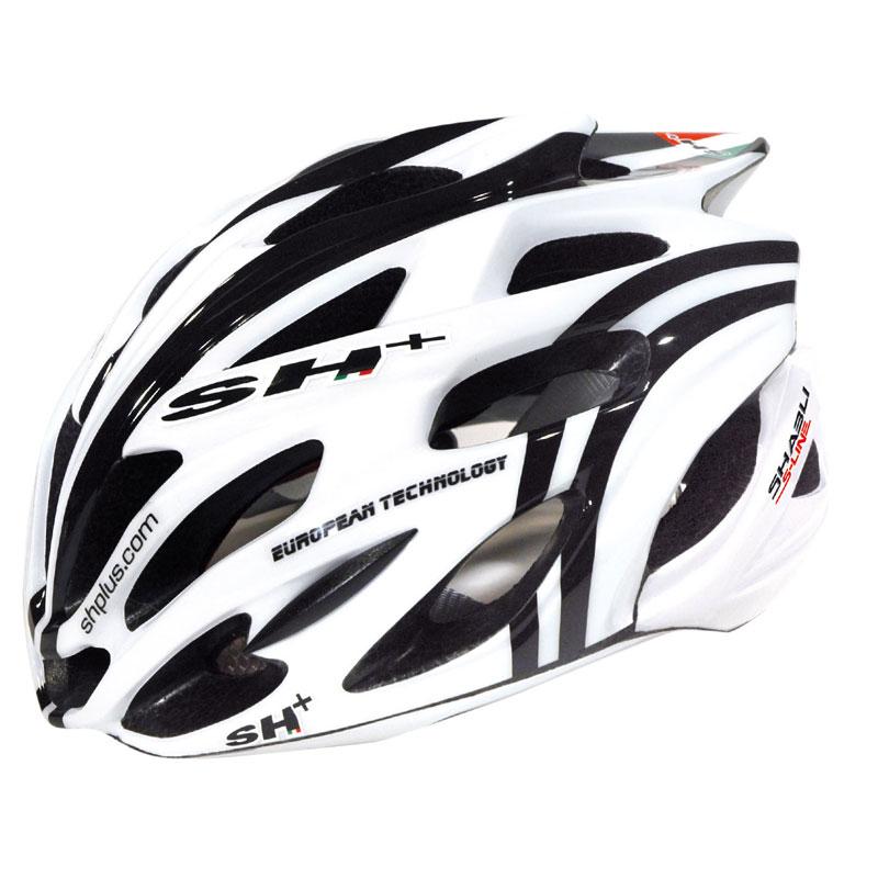 SH+ SHABLI S-LINE ホワイトマット/ブラック ヘルメット