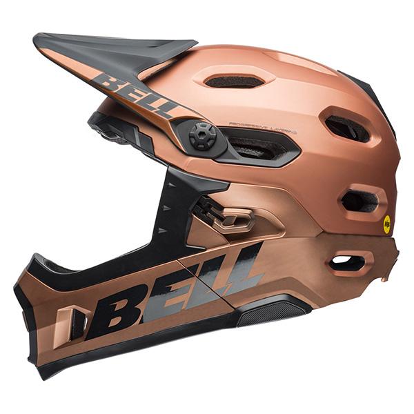 ベル スーパー DH MIPS マットコッパー ヘルメット