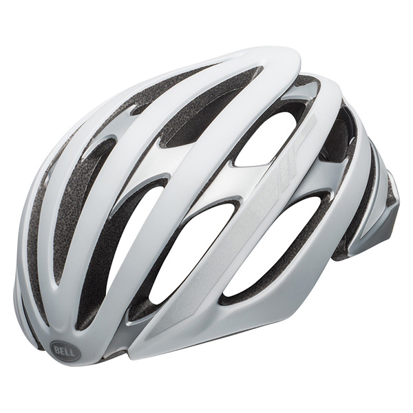 ベル ストラータス MIPS マットホワイト/シルバーリフレクティブ ヘルメット