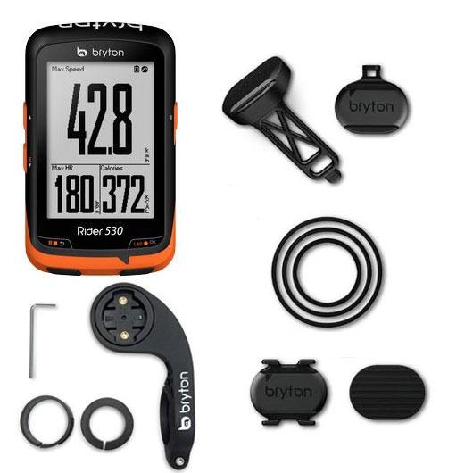 ブライトン Rider530D ダブルキット(ケイデンス、スピードセンサー付) GPS