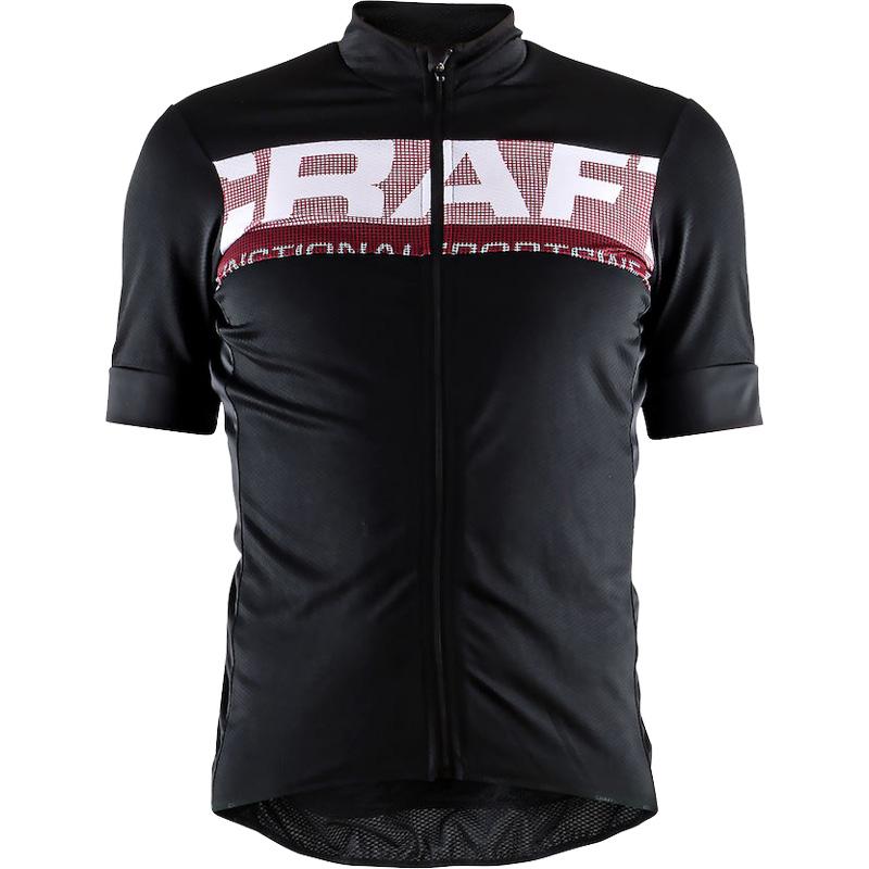 クラフト Reel Jersey ブラック/ブライトレッド