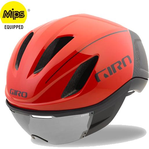 ジロ VANQUISH MIPS ワイドフィット ブライトレッド ヘルメット