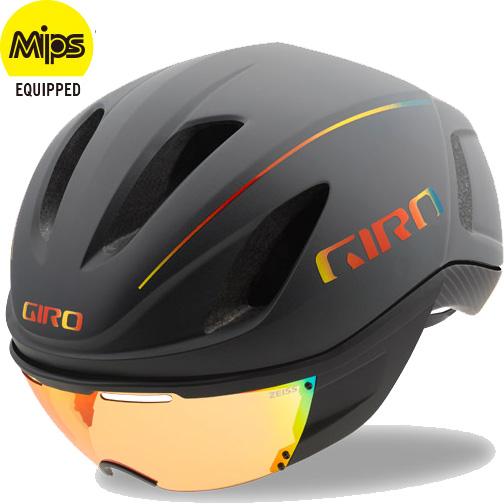 ジロ VANQUISH MIPS ワイドフィット グレーファイヤークローム ヘルメット