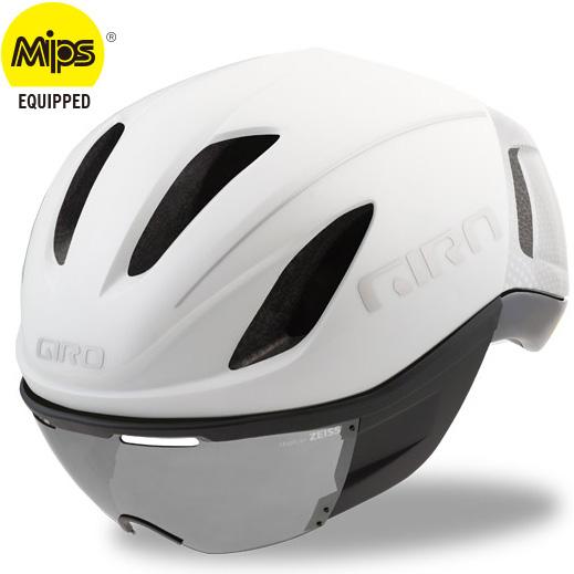 ジロ VANQUISH MIPS ワイドフィット マットホワイト/シルバー ヘルメット