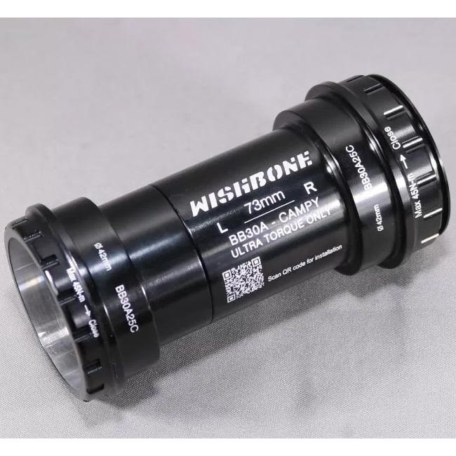 ウィッシュボーン BB30A25C 42mm/73mm ボトムブラケット【自転車】【ロードレーサーパーツ】