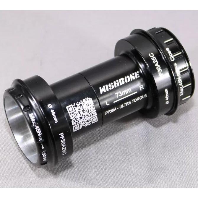 ウィッシュボーン PF30A25C 46mm/68mm ボトムブラケット【自転車】【ロードレーサーパーツ】