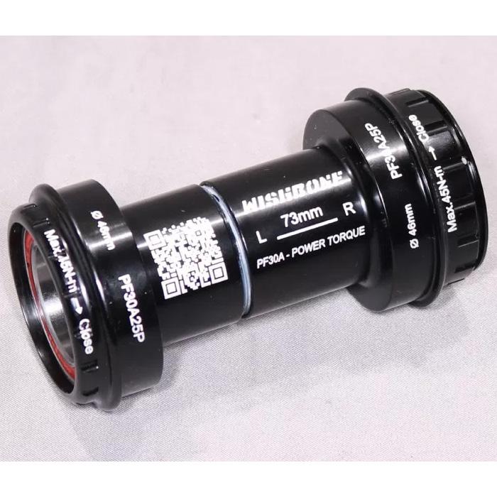 ウィッシュボーン PF30A25P 46mm/68mm ボトムブラケット【自転車】【ロードレーサーパーツ】