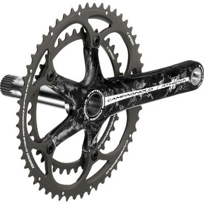 カンパニョーロ アテナ パワートルク 11S カーボンクランクセット 172.5mm 【自転車】【ロードレーサーパーツ】【カンパニョーロ】