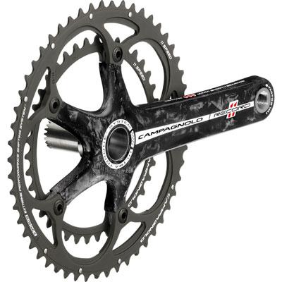 カンパニョーロ レコード 11S カーボンクランクセット 172.5mm 【自転車】【ロードレーサーパーツ】【カンパニョーロ】