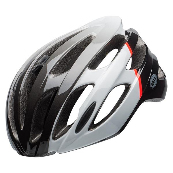 ベル ファルコン MIPS グロスホワイト/インフレッド/ブラック ヘルメット