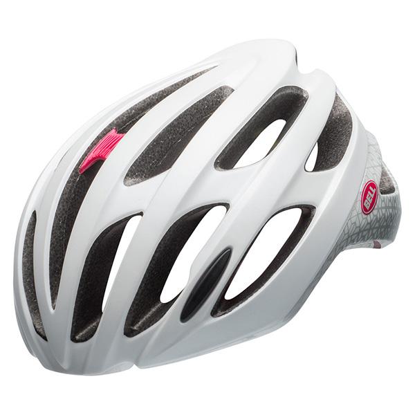 ベル ファルコン MIPS マットホワイト/スモークディゾルブ ヘルメット
