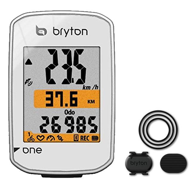 【特急】ブライトン RiderOne (ケイデンスセンサー付) GPS ホワイト