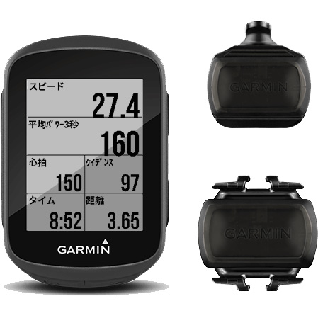 ガーミン エッジ(Edge) 130 日本版 スピード ケイデンス セット GPS ブルートゥース