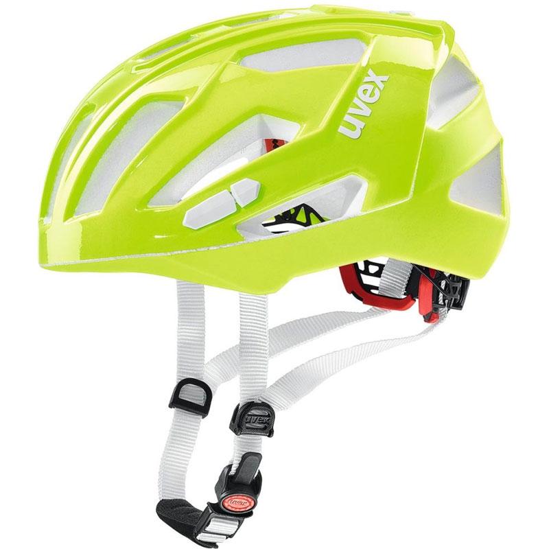 ウベックス QUATRO XC ネオンライム ヘルメット