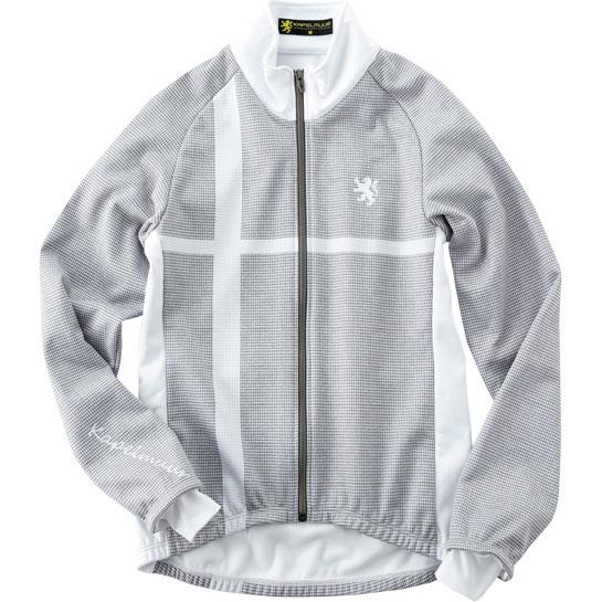 カペルミュール プレミアムサーモジャケット 千鳥クロス ホワイト