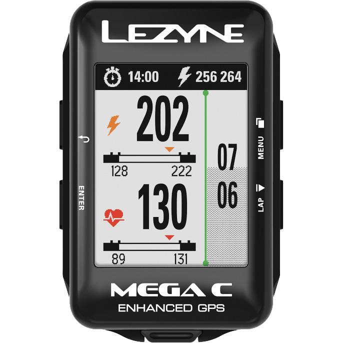 【あす楽】レザイン メガ C カラー GPS ブラック(57-3701101002)