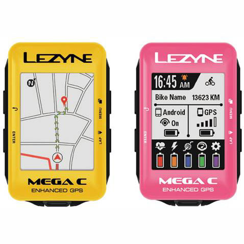 レザイン メガ C カラー GPS カラーボディーモデル