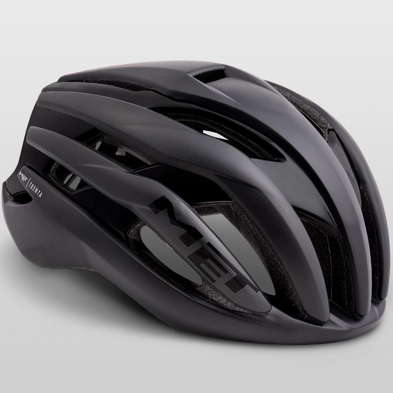 メット トレンタ ブラック ヘルメット
