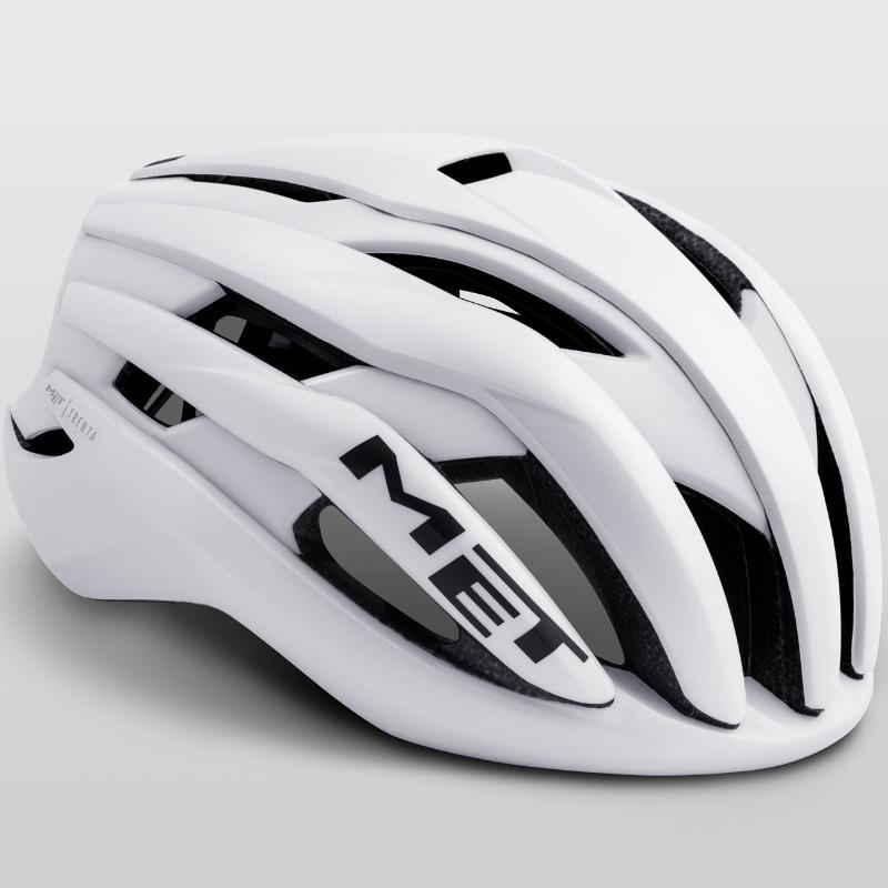 メット トレンタ ホワイト ヘルメット