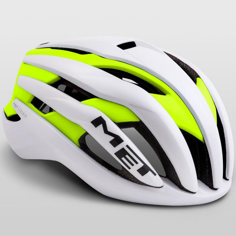 メット トレンタ ホワイトセーフティイエロー ヘルメット