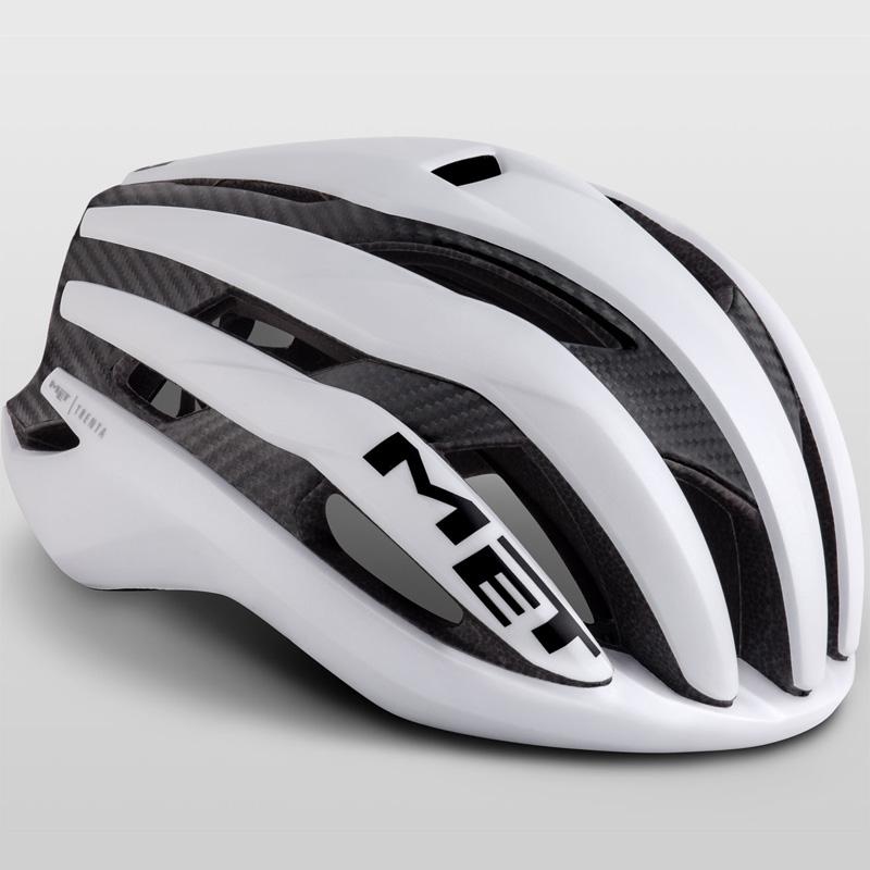 メット トレンタ 3K カーボン ホワイト ヘルメット